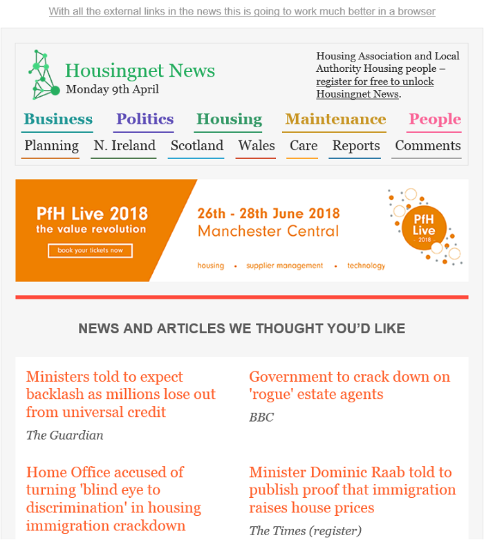 Handpicked Housing News